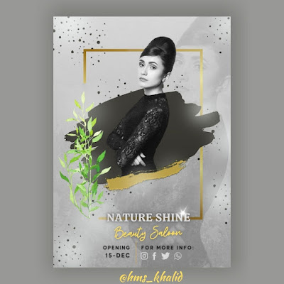 Tutorial 14 - Design Flyer for Beauty Salon in Canva