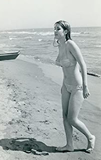 Picture of Trini Mitchum on a beach