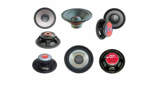 Harga Speaker ACR 12 inch, 15 inch, 18 inch
