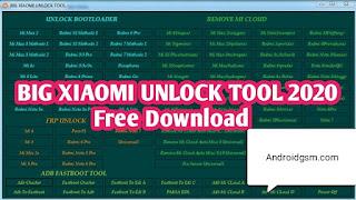 How To Download BIG Xiaomi Micloud FRP Bootloader ADB Fastboot Unlock Tool Free Password To Androidgsm