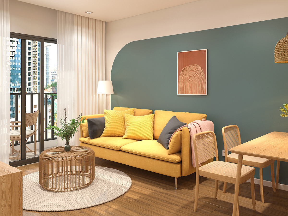 Thiết kếnội thất căn hộ 3PN Vinhomes Ocean Park Gia Lâm