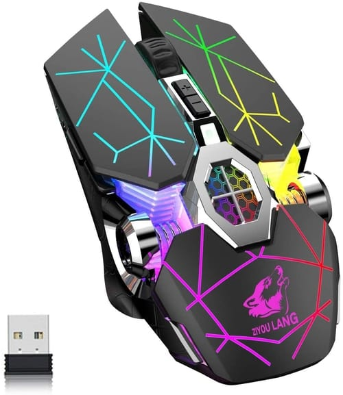 Review FELICON RGB Wireless Rechargeable Gaming Mouse
