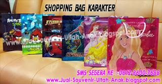 Shopping Bag Karakter Murah Tips di dalam memilih Goodie Bag untuk dijadikan Souvenir UlangTahun Anak kita
