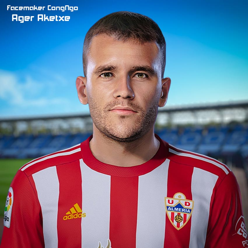 Ager Aketxe Face For eFootball PES 2021