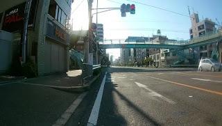 府道14号との交差点