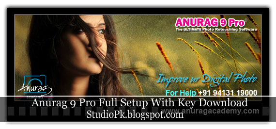 Anurag pro Full software with backgrounds Free Download