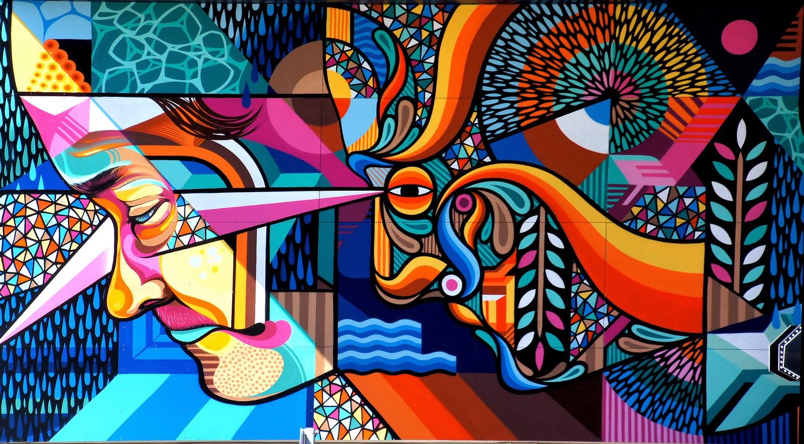 Creative Wall Murals Beastman X Vans The Omega New Mural For Rise Street Art