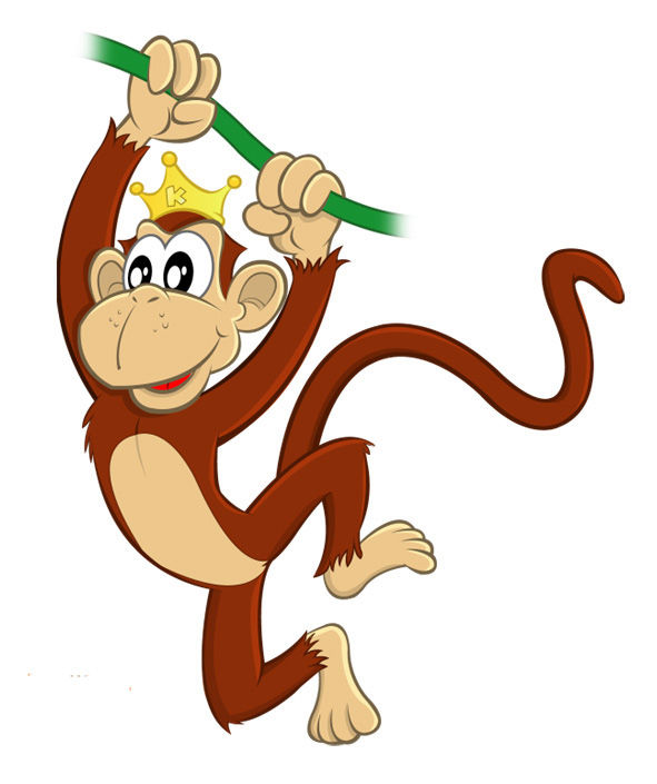 monkey cartoon wallpaper - photo #5