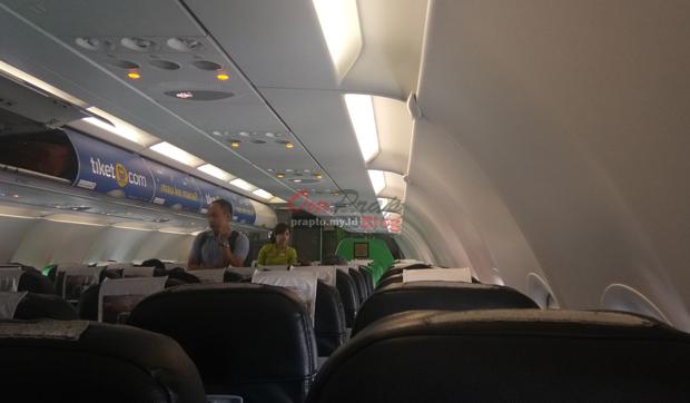 Penampakan dalam Kabin Pesawat Terbang