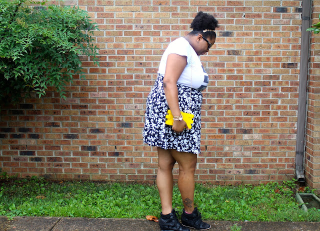 PLUS SIZE OOTD BLACK AND WHITE