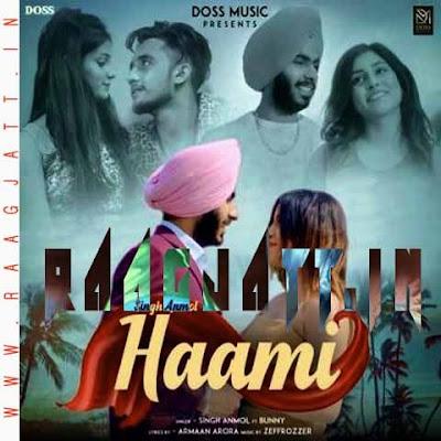 Haami by Singh Anmol lyrics