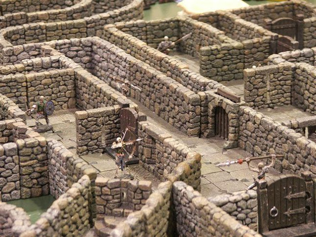 Dwarven Forge - Dungeon Miniature Gaming Tiles