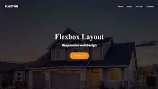 flexbox responsive layout