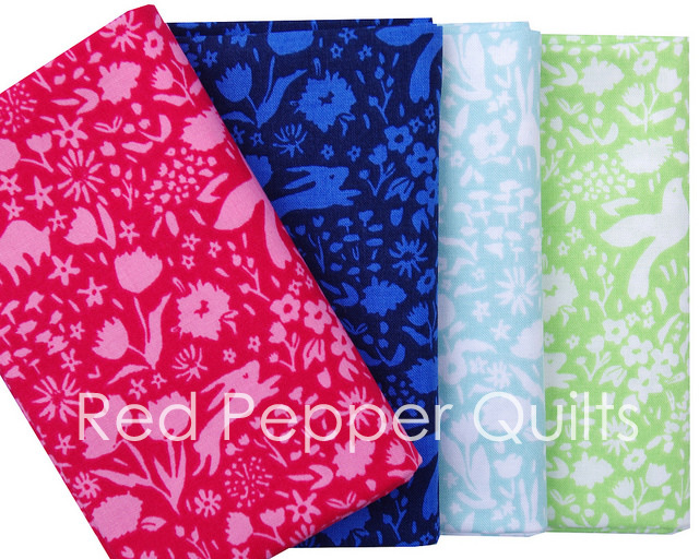 Sommer by Sarah Jane for Michael Miller Fabrics | Red Pepper Quilts 2016