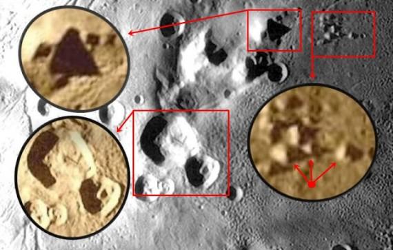 Lubang Misterius Planet Pluto Dan Piramida Di Bulannya