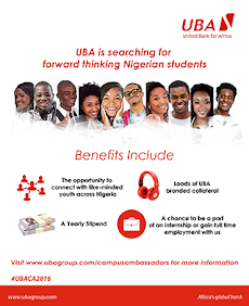 UBA Search for (Thinking Nigerian Students)