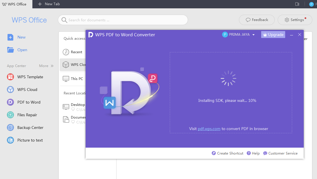 Convert File PDF ke Word