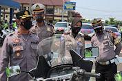 Wakapolres Serang Cek Kelengkapan Randis Satlantas Polres Serang