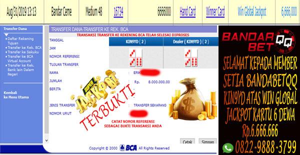 Jackpot Bandar Ceme Idn Poker Dominoqq Online Situs Bandarbetqq