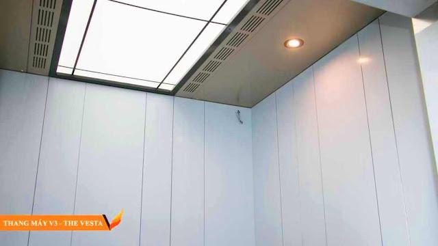 Thang máy tòa V3 The Vesta
