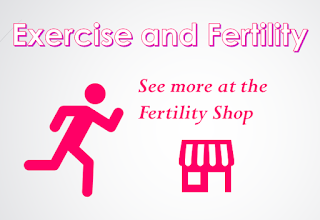 EXERCISE ON TOP OF STRESS = MORE INFERTILITY