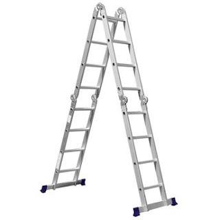 Escada de Alumínio Mor 4x4