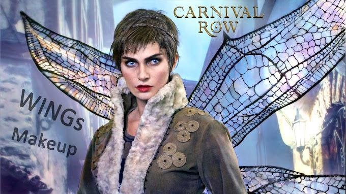 Alyson Tabitha nos muestra su tutorial de maquillaje de Vignette en carnival Row