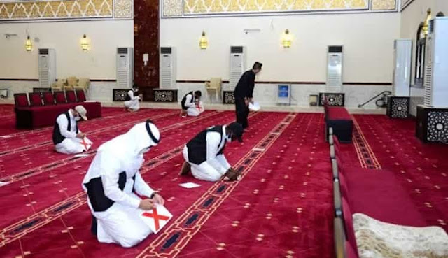 About 1560 Mosques to open their Doors for Worshipers in Makkah from Sunday - Saudi-Expatriates.com