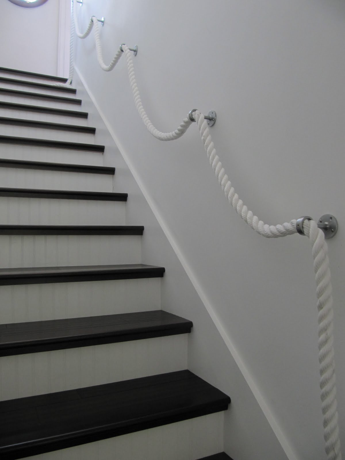 laurie's-projects: Stair Rope Banister