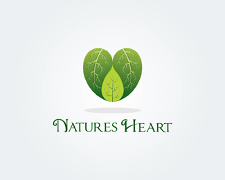Natures Heart  logo