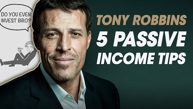 5 Passive Income Tips from Unshakeable by Tony Robbins