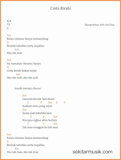 chord cinta birahi lagu dangdut ida eliza