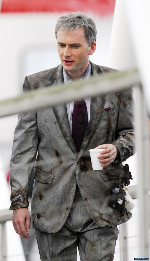 THROWBACK THURSDAY PHOTOS: David Tennant On The Set Of St