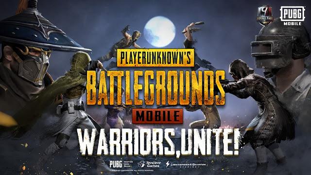 pubg mobile season 9 warrior theme