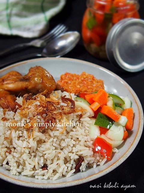 resep nasi kebuli ayam versi kukus