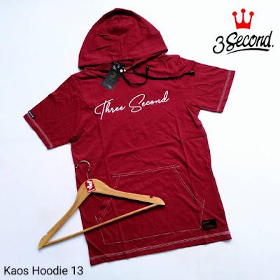 KAOS HOODIE 3SECOND KH13