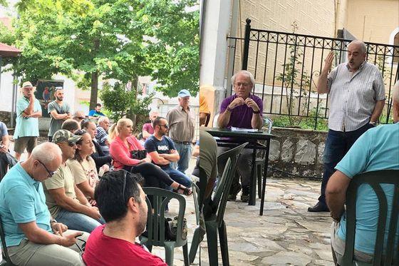 Με αφορμή τη συζήτηση στην πλατεία της Παύλιανης για τα αιολικά στην Οίτη
