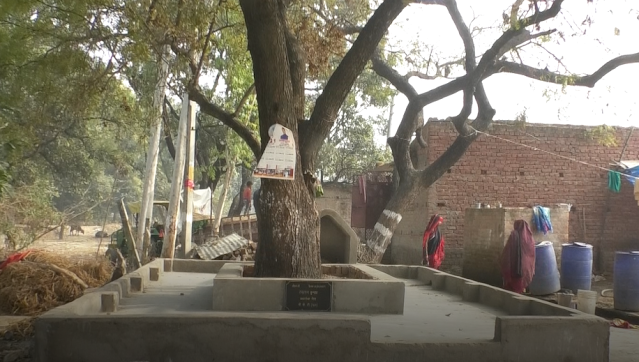 Lallan Kumar built the platform in Gorwamau
