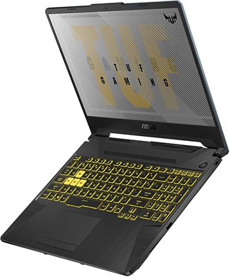 ASUS TUF506IV-AS76: gaming laptop with AMD Ryzen 7 processor and GeForce RTX 2060 graphics