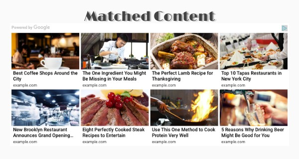 Mengapa Iklan Jenis Matched Content tidak Tampil
