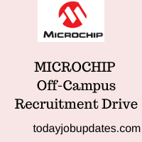 Microchip Off-Campus Recruitment Drive
