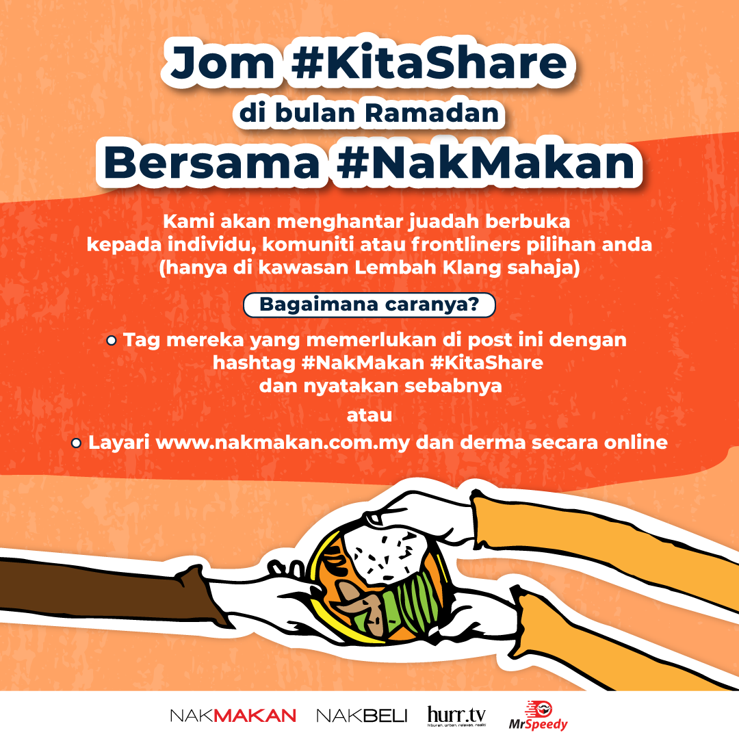 nak makan to sponsor 10,000 free meals for ramadan