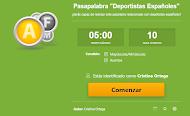 """Pasapalabra """"Deportistas Españoles"""""""