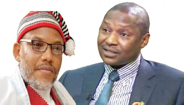 Nnamdi Kanu: Malami, a disgrace to rule of law, says Alberta's justice minister