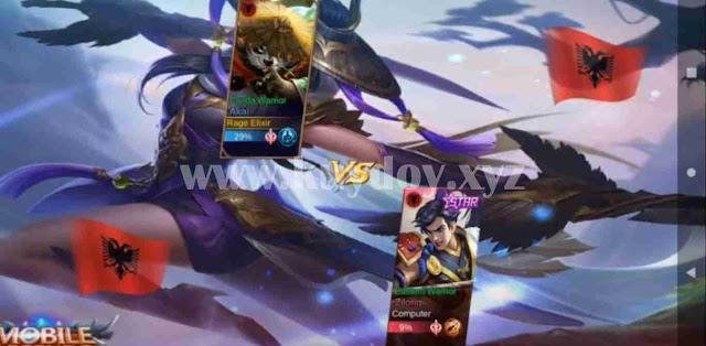 Script Loading MOD Battle Screen Mobile Legends