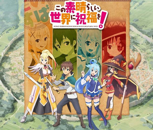 Peringkat Anime Winter 2017 Menurut NTT DoCoMo