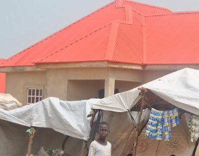 boko haram raid un building maiduguri