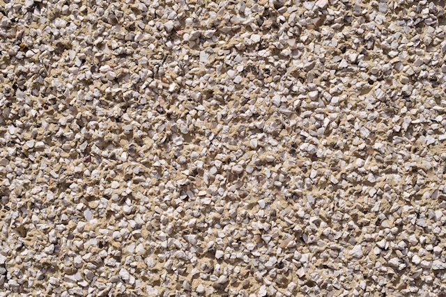White pebblestone gritty wall texture