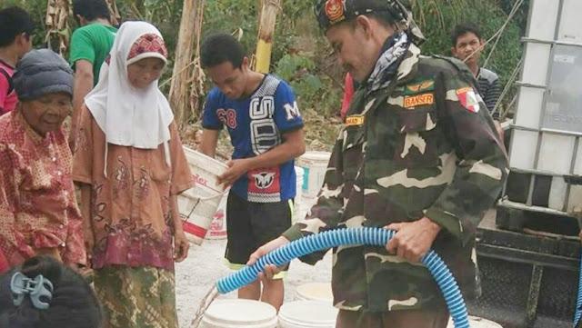 Peduli Kekeringan, Banser Boyolali Bantu Air Bersih ke Desa