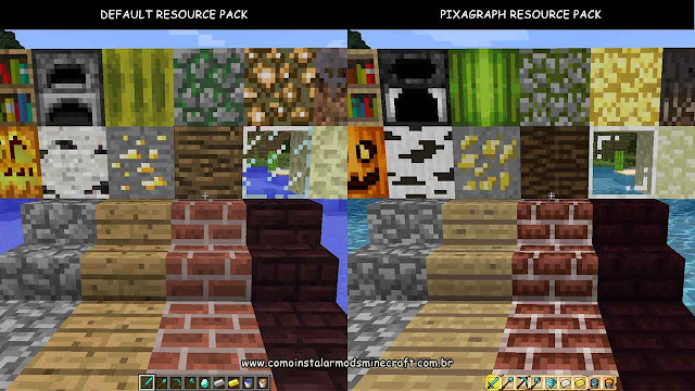 Pixagraph Resource Pack Como Instalar Mods No Minecraft